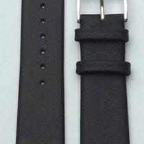 Berlin Lederband schwarz 22mm 714.1.22.01.2