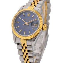 Rolex Used 69173_used_blue_stcik Datejust 26mm 2-Tone with...