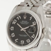 Rolex Oyster Perpetual Datejust 36 mm Stahl an Oysterband Ref....