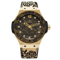 Χίμπλοτ (Hublot) Big Bang Broderie Yellow Gold 41 mm