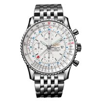 Μπρέιτλιγνκ  (Breitling) Navitimer World Stainless Steel Bracelet
