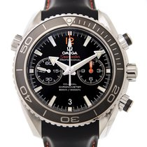Omega Seamaster Stainless Steel Black Automatic 232.32.46.51.0...