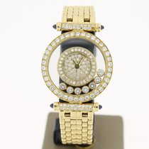 Chopard Happy Diamonds 18K Yellow Gold FactorySetting 25mm...