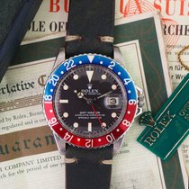 Ρολεξ (Rolex) GMT-MASTER Ref. 1675 Box and Papers