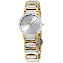 라도 (Rado) Centrix Stainless Steel Silver Dial Ladies Watch...
