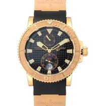 Ulysse Nardin 18K Rose Gold Maxi Marine Diver Chronometer...
