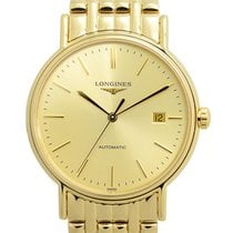 Longines Presence Gold-plated Stainless Steel Gold Automatic...