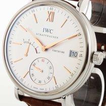 IWC Portofino Edelstahl/Krokolederband Ref. IW510103