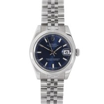 Rolex Stainless Steel Blue Dial Datejust 31 178240