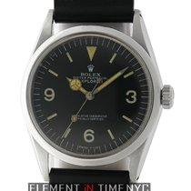 Rolex Explorer I Patina Black Dial 36mm Circa 1970 Caliber...
