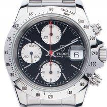 Tudor Prince Date Rolex Case Stahl Automatik Chronograph...