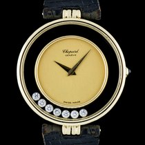 Chopard 18k Y/G Champagne Dial Happy Diamonds Kutchinsky H 2466
