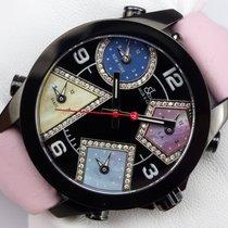 Jacob & Co. 5 Time Zone - 40 mm - Diamanten - ungetragen