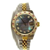 Rolex Datejust Lady's Steel and Gold Jubilee Band with...