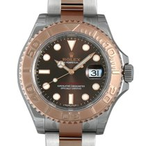 Rolex Yacht-Master Chocolate Dial Steel/18K Everose Gold NEW