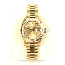 ロレックス (Rolex) Datejust Lady 69178 - 18K Yellow Gold - Diamond...