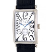 Franck Muller Long Island Big Date 1200 Sg Gg White Gold,...