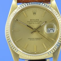 Rolex Datejust 18K/750 Gold 36 mm