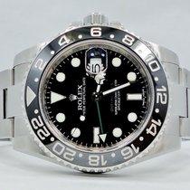 Rolex Gmt-master II 116710 Steel Black Ceramic Bezel Papers...