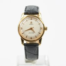 Omega Vintage Automatic Seamaster with original satin dial