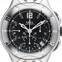 Ebel Type E Stahl Automatik Chronometer Chronograph Armband...