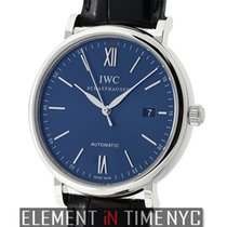 IWC Portofino 18k White Gold Blue Dial Boutique Edition XXX/500