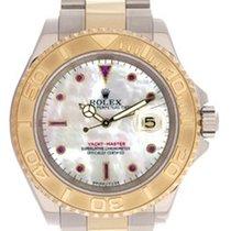 Rolex Men's Rolex Yacht - Master Watch 16623 Mother-Of-Pea...