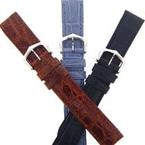 Cartier Alligator straps.Sizes 12 Cartier 18kwg Buckles...