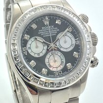 Rolex Daytona 18K 750  Brillant Princess Diamonds MOP  B+P