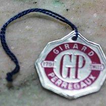 Girard Perregaux vintage paper tag argentè