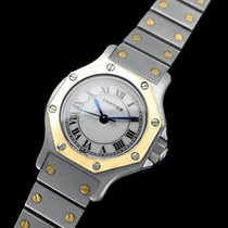 Cartier Santos Octagon Ladies Watch, Automatic - Stainless...