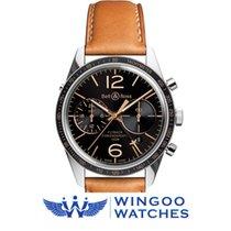 Bell & Ross VINTAGE BR126 FLYBACK GMT Ref. BRV126-FLY-GMT/SCA