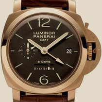 Panerai Luminor 1950 8 Days GMT Oro Rosso