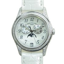 百達翡麗 (Patek Philippe) New  Complications 18k White Gold White...