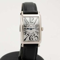 Franck Muller Long Island - 18k white gold ladies size 952 QZ