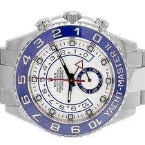 Rolex Mens Rolex Yacht Master II Stainless Steel 44 MM 116680...