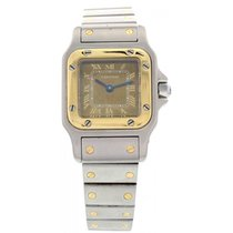 Cartier Santos 1057930 18k Yellow Gold