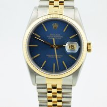 Rolex Datejust Two Tone 18k Yellow Gold & Stainless Steel...