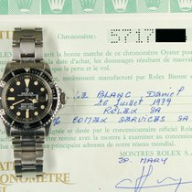 Rolex Submariner 1680 plexi COMEX punched papers