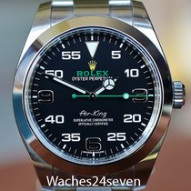 Rolex Air King Black Dial Stainless Steel 40mm Ref. 116900
