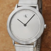 ck Calvin Klein K3411 34mm Men's Quartz 1990s Swiss Made...
