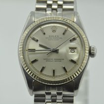 Rolex - Oyster Perpetual Datejust - White Gold Bezel -...