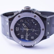Hublot Big Bang Stainless Steel Watch on Rubber Strap
