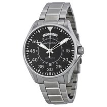 Hamilton Men's H64615135 Khaki Aviation Pilot Day Date Auto