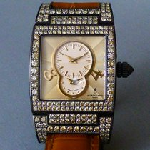 De Grisogono Instrumentino 18k Diamond studded case + Dual Time