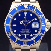 Rolex Submariner date full yellow gold & full set 16618