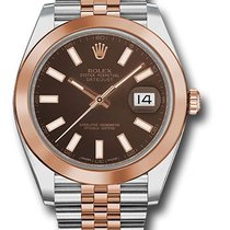 Rolex Datejust , Ref. 126301 - choco Index ZB/Jubileeband