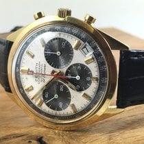Zenith 18ct Gold El Primero G581 Chronograph 3019 PHC Vintage...