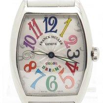 Franck Muller Color Of Dreams Stainless Steel Quartz Watch...