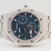 Audemars Piguet Royal Oak Dual Time Blue Boutique Edition...